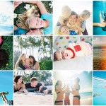 maui family photographer wendy laurel's collage of maui family photos 1