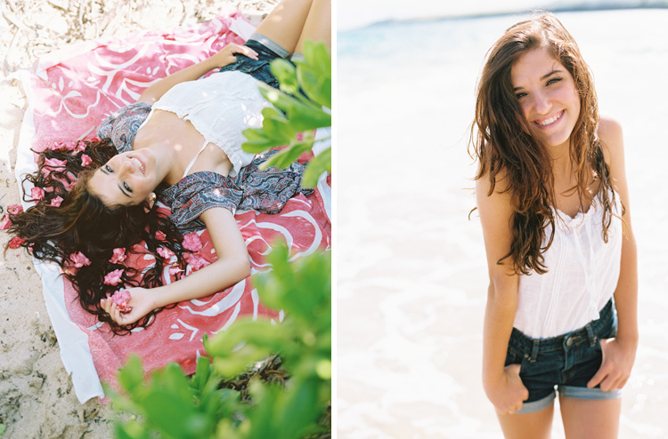 maui photographer wendy laurel's photo of girl on beach