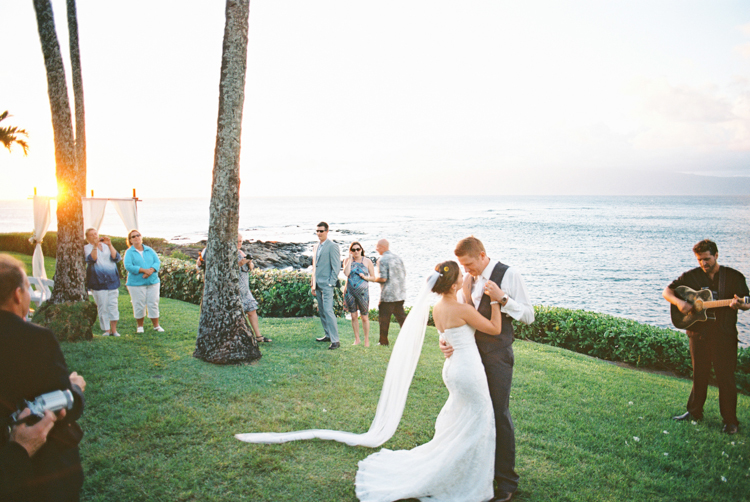 maui photographer wendy laurel's film images of maui wedding at merrimans in kapalua-21