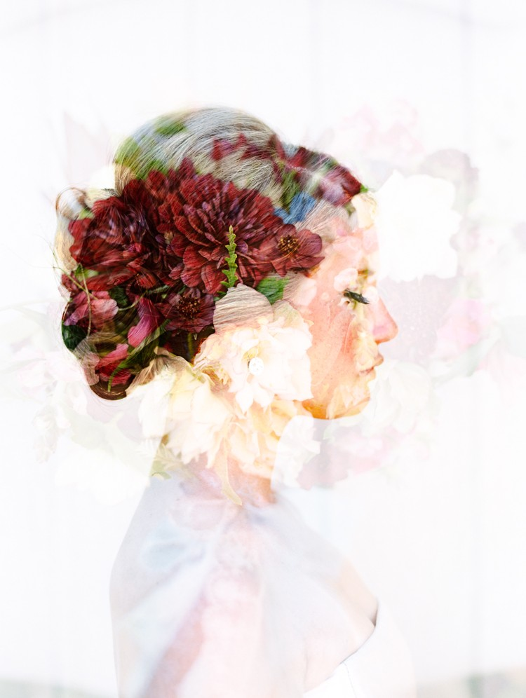 maui wedding photographer wendy laurel's winning double exposure image