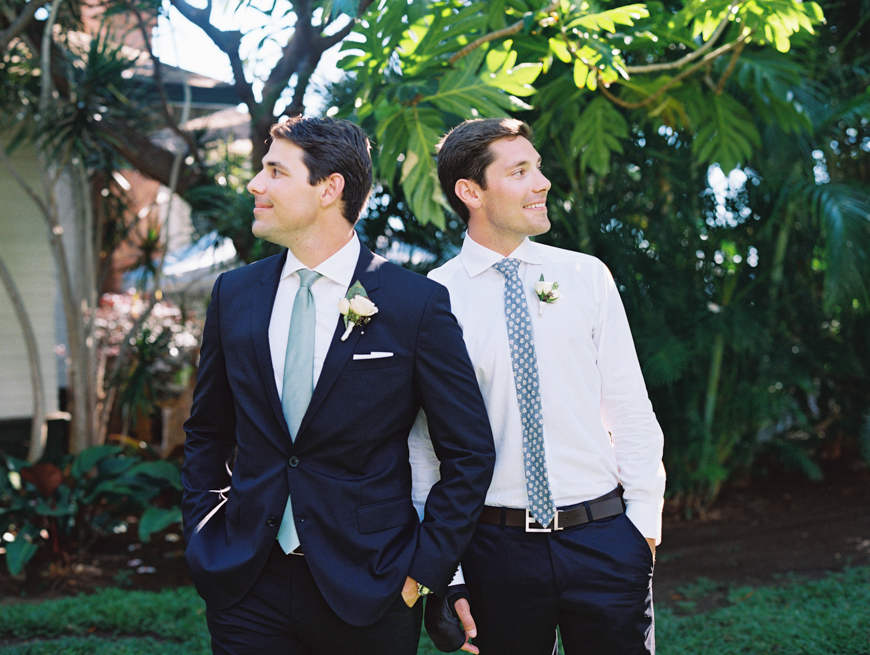two brothers image by maui wedding photogrpaher wendy laurel