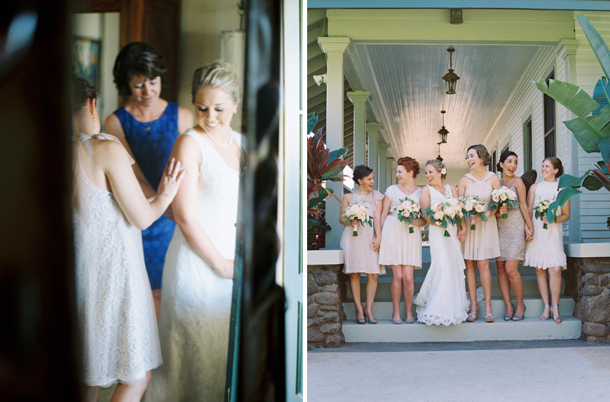 bride getting ready by photographer wendy laurel