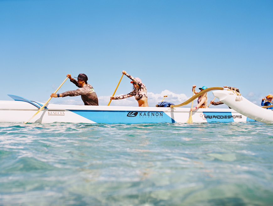 maui canoe paddling at westin with maui paddlesports photos by photographer wendy laurel-7