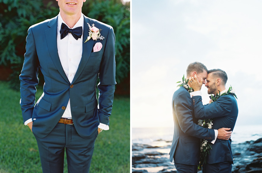 two grooms same wedding at merrimans in kapalua maui by maui photographer wendy laurel-2