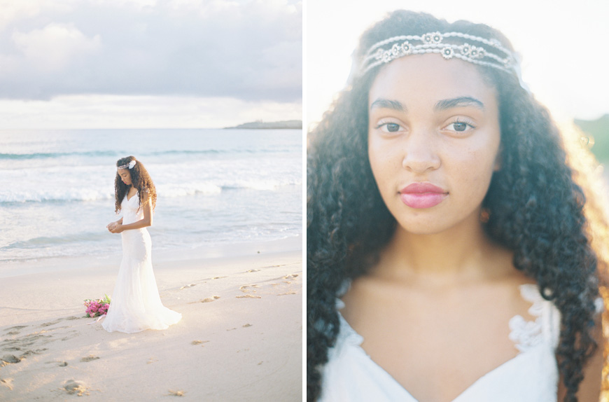 claire pettibone gown on beach inspiration by maui wedding photographer wendy laurel-1