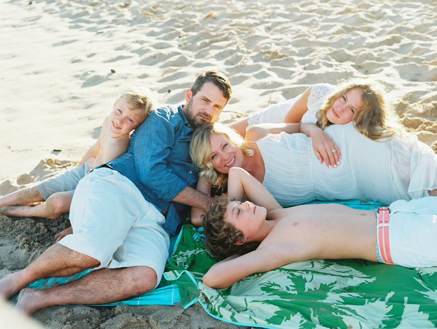 maui family photography at ironwoods beach by maui photographer wendy laurel