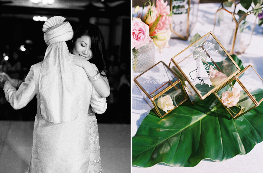 gorgeous indian and chinese wedding featured on the knot by maui photographer wendy laurel