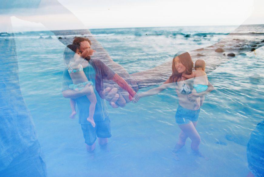 fun lifestyle family beach photography in hawaii on poipu beach on kauai by maui photographer wendy laurel