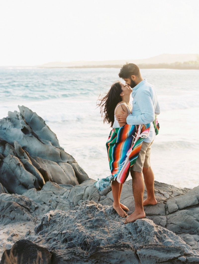 wild love lifestyle photography session on kapalua beach by maui photographer wendy laurel