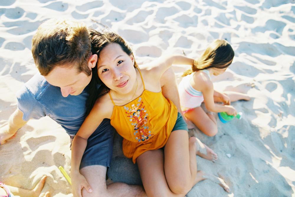 saying aloha family beach photos in west maui by maui photographer wendy laurel
