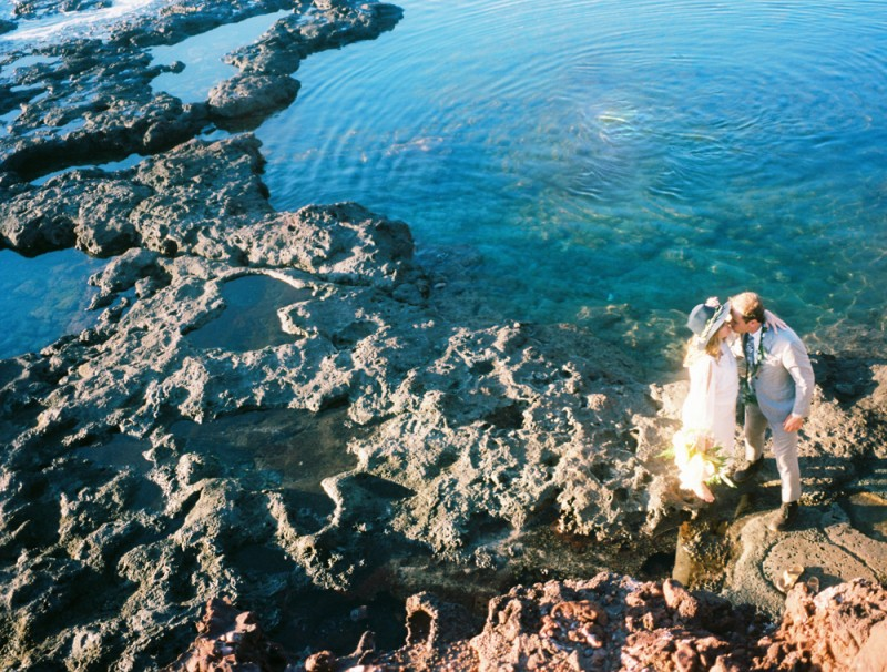100 layer cake vow renewal on lanai four seasons by maui wedding photographer wendy laurel