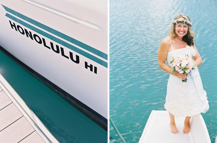 hawaii photographer wendy laurel's photos of sailboat wedding in honolulu oahu (57 of 62)