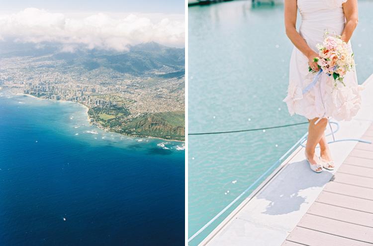 hawaii photographer wendy laurel's photos of sailboat wedding in honolulu oahu (61 of 62)