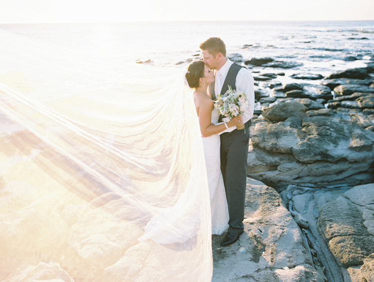 Pretty Maui Wedding At Merrimans Featured on Style Me Pretty