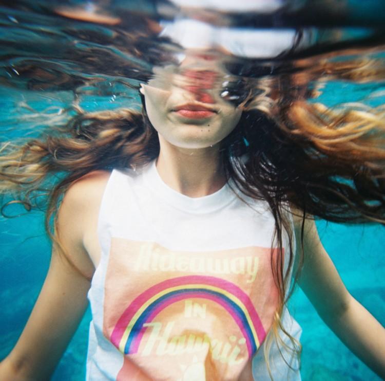 Kodak ektar 100 film tutorial image shot underwater on 35mm by wendy laurel