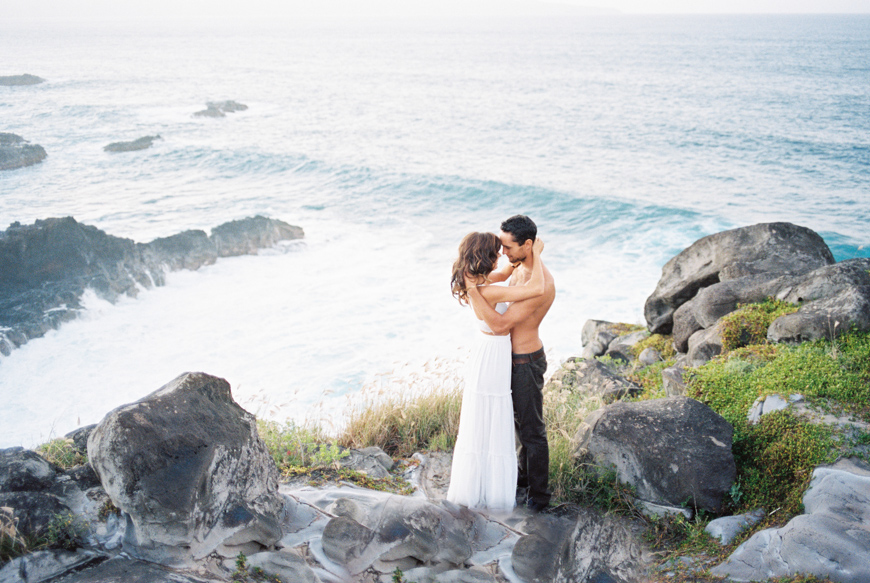 honolua bay wedding shoot on maui by hawaii photographer wendy laurel-31