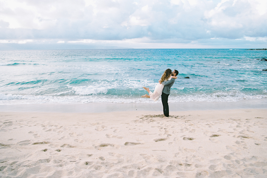 Maui Photographer Wendy Laurel With Engagement And Proposal At Ironwoods Beach 6