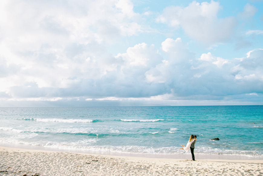 maui photographer wendy laurel with maui engagement and proposal at ironwoods beach-7