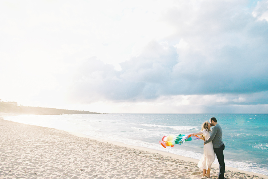 maui photographer wendy laurel with maui engagement and proposal at ironwoods beach-9