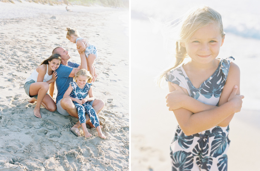 maui family photography by maui photographer wendy laurel's image of family in golden sunshine on ironwoods beach in mini session-13
