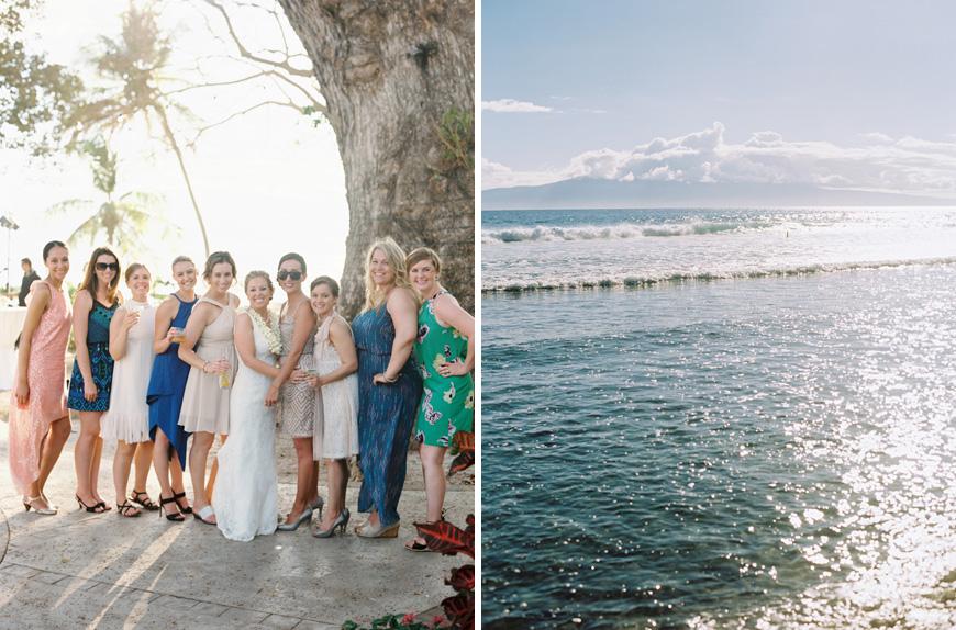 olowalu plantation house wedding image