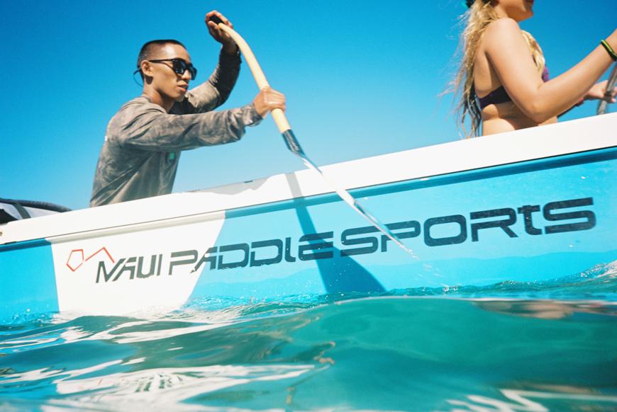 maui canoe paddling at westin with maui paddlesports photos by photographer wendy laurel-3