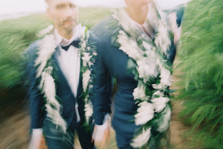 two grooms same wedding at merrimans in kapalua maui by maui photographer wendy laurel-50