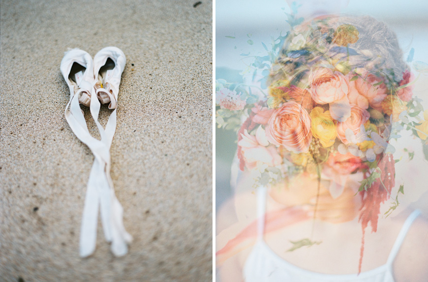 Beach Ballet Wedding Editorial