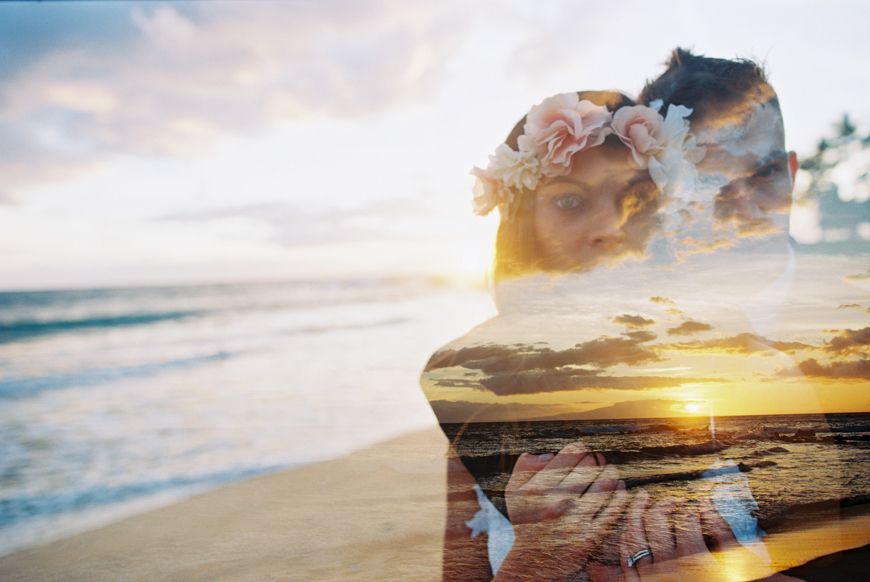 hawaii beach elopement photography by maui wedding photographer wendy laurel