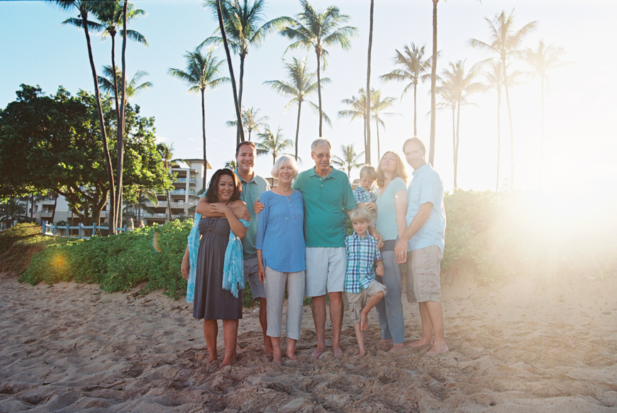 kaanapali and lahaina family beach photos by maui family photographer wendy laurel
