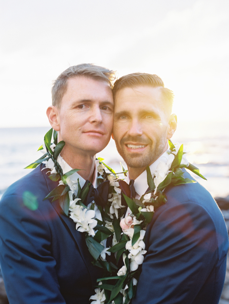 LGBT wedding at Merrimans featured on Style Me Pretty