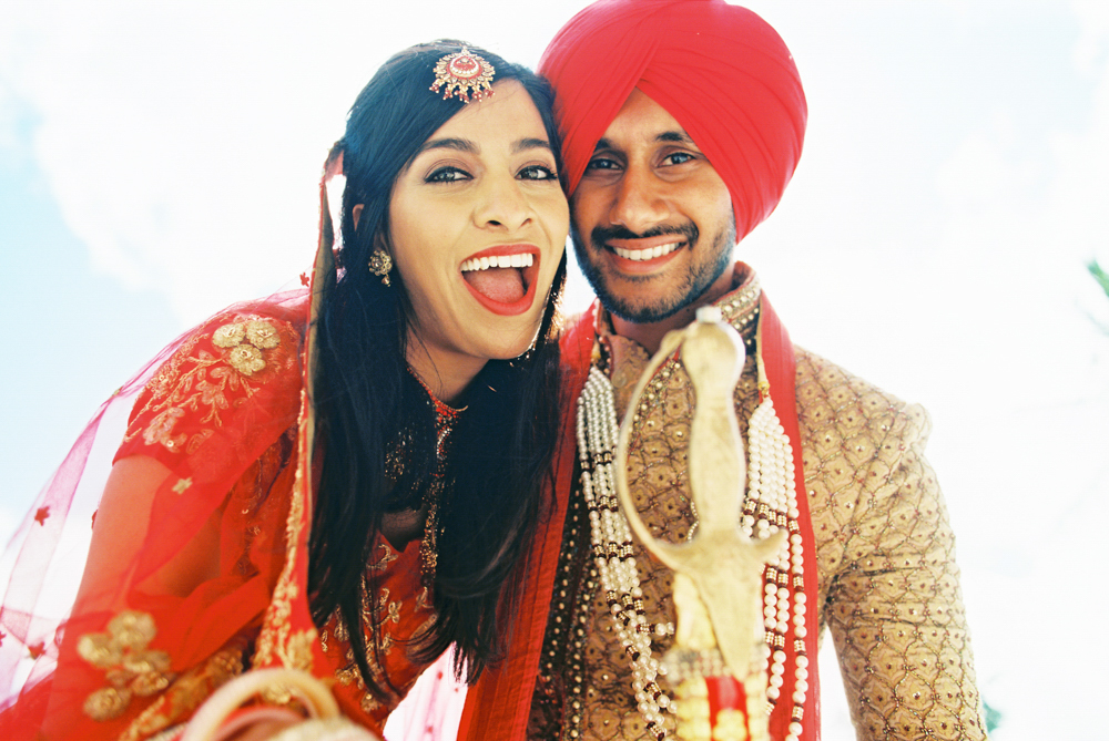 Sikh and Hindu Wedding Featured on 100 Layer Cake