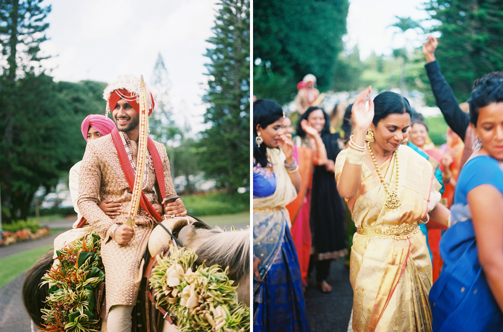 hindu and sikh indian wedding ceremonies featured on 100 layer cake by maui photographer wendy laurel-