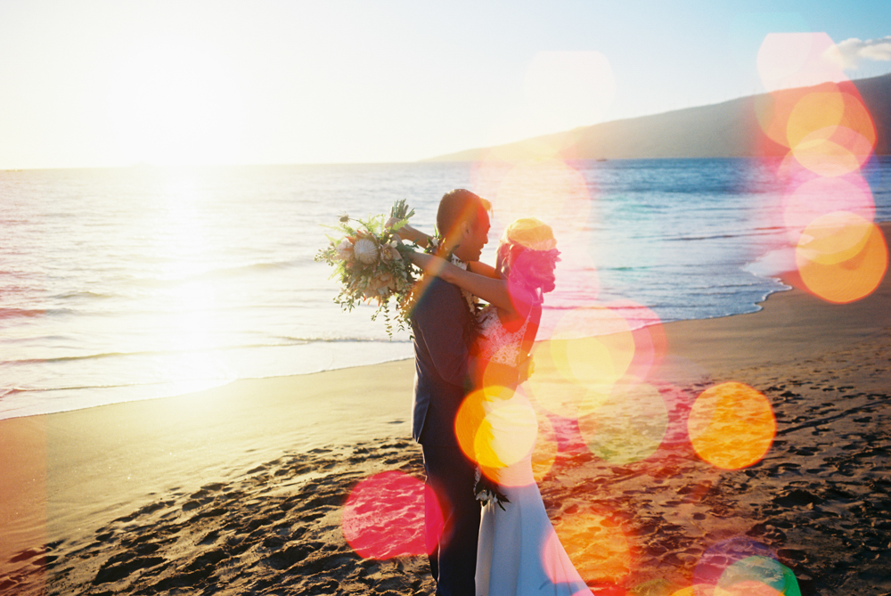 The Coolest — Fun Maui Wedding
