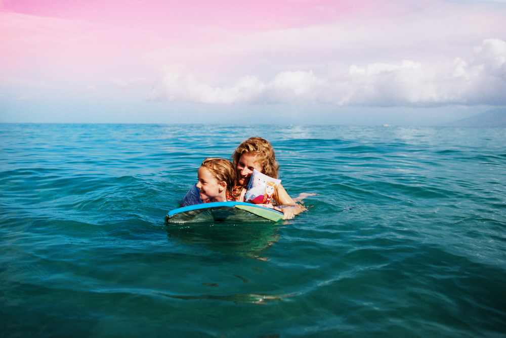 maui family photography shoot called summer love at the beach and ocean by maui photographer wendy laurel