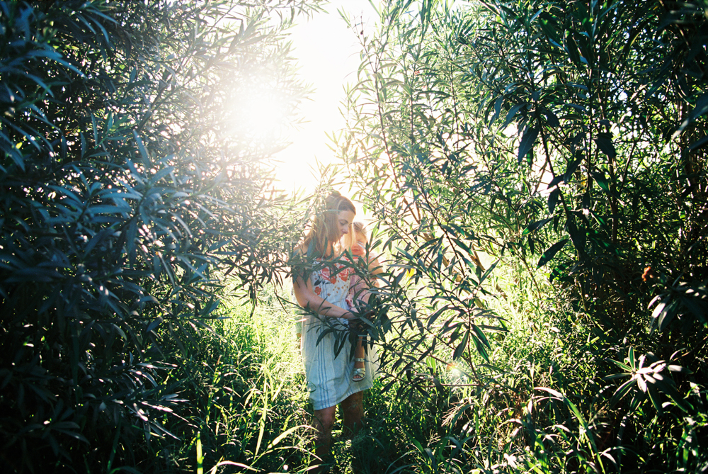 maui family photography session in field of kaanpali by maui photographer wendy laurel
