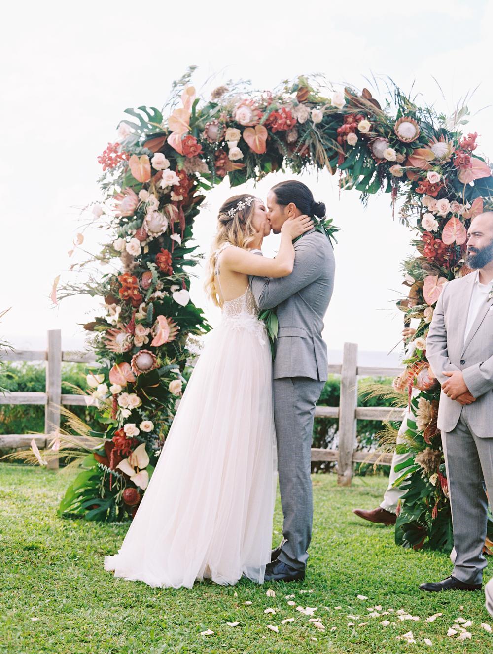 maui wedding at kapalua montage by maui photographer wendy laurel